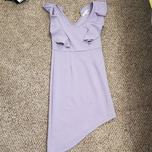 Lavender dress, XS